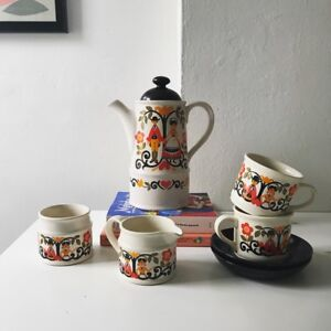 Sadler England Folk Love tea/coffee set