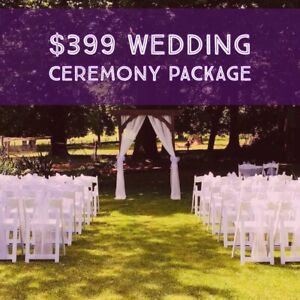 $399 WEDDING CEREMONY PACKAGE SPECIAL