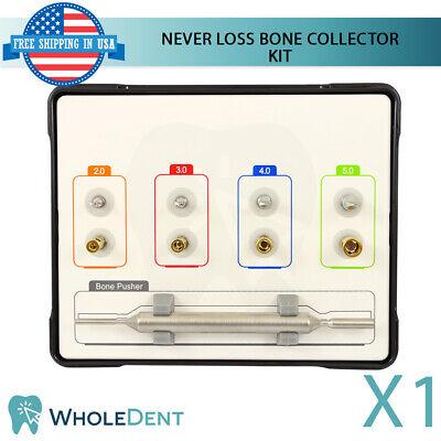 Nlbc Never Loss Bone Collector Drill Kit Graft Dental Implant Surgical Tool