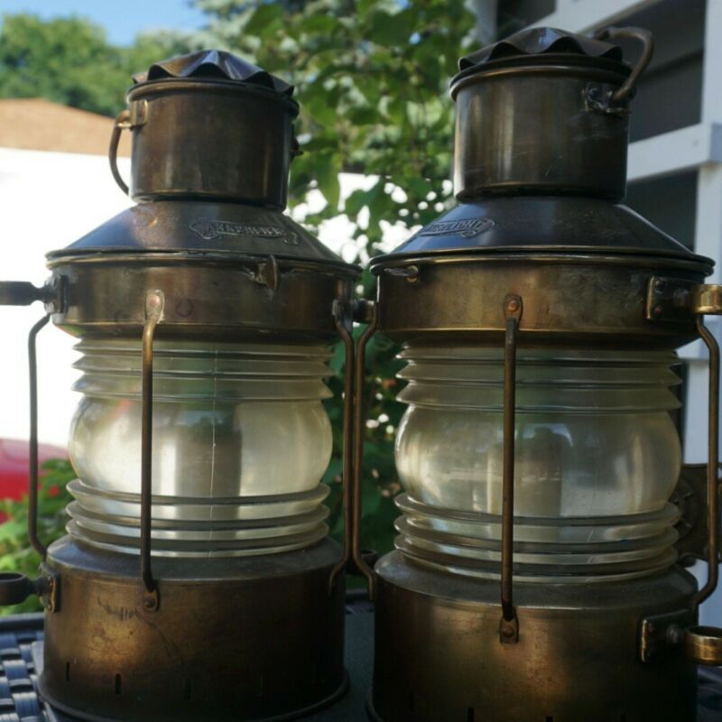 Ankerlicht Brass Lanterns - Lake House?  Pool House?