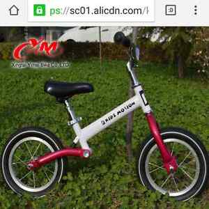 Wanted - steel frame kids balance bike Forest Glen Maroochydore Area Preview