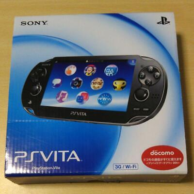 PS VITA 3G/Wi-Fi Crystal Black First Limited Model Operacion Confirmed for sale  Shipping to Nigeria