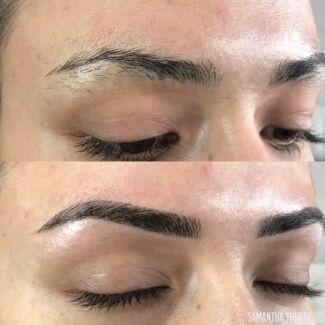 Eyebrow feathering:250$