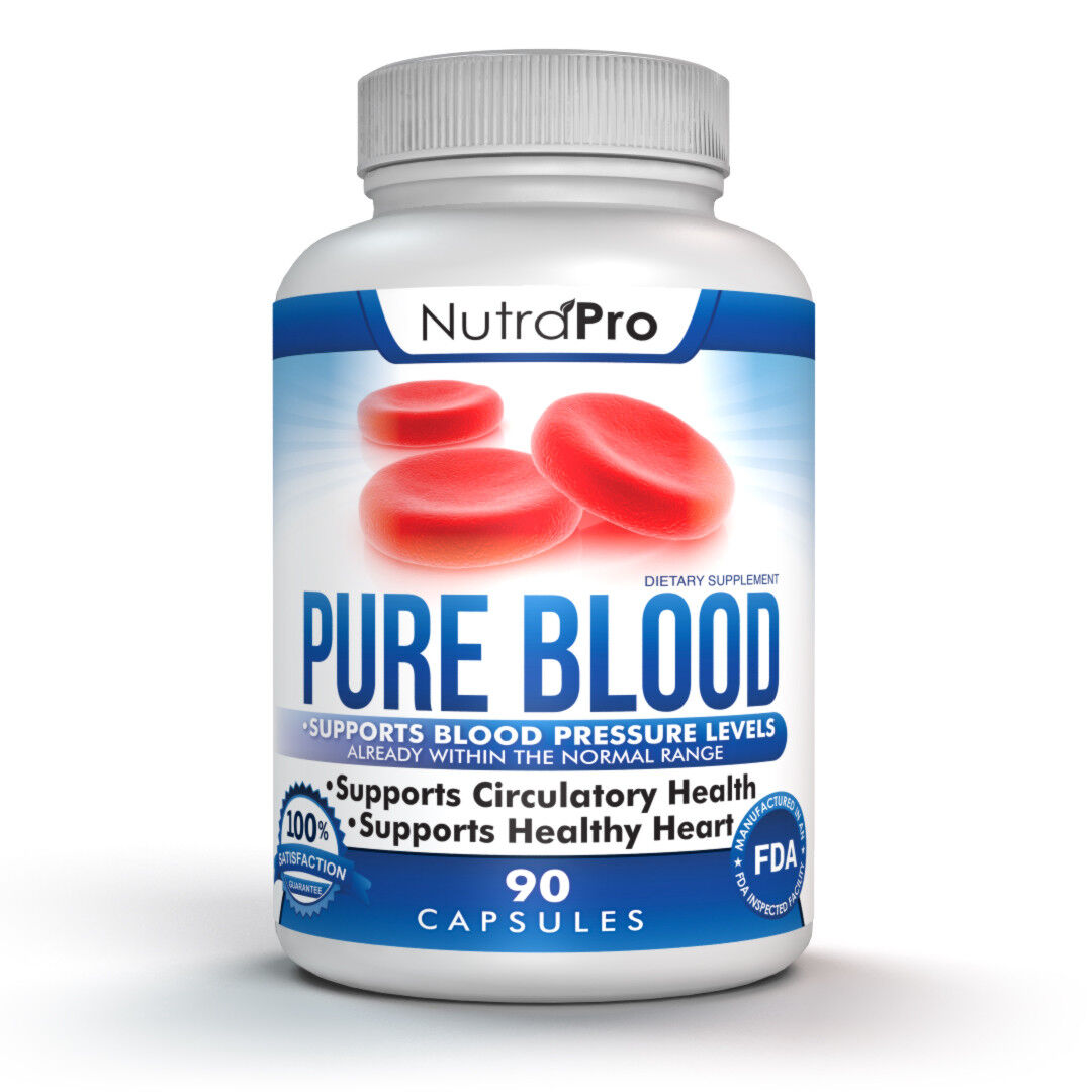 Blood Pressure and Cholesterol Lowering Support Supplement.All Natural