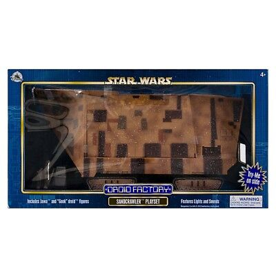 NEW Disney Parks Excl Star Wars Droid Factory Jawa SandCrawler Playset Best (Best Star Wars Toys)