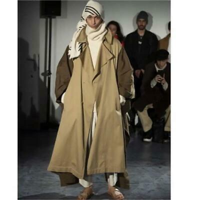 Hed Mayner Poncho Trench Coat 19AW Onesize from Japan Free shipping