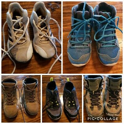 Boys Shoes Size 13 And 13.5 Lot Of 5 Pairs
