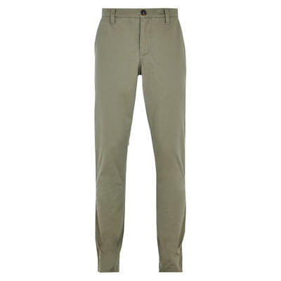 HYMN LONDON  - Turner Cotton Classic Chinos Trousers - Taupe - W32 or 34 Regular
