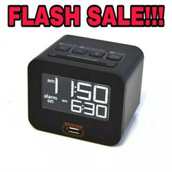 iHome LCD Alarm Clock With USB Charging and Battery Backup - FLASH SALE!!!
