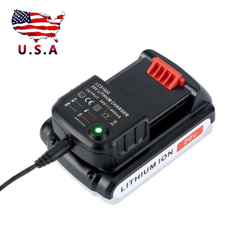 20V Lithium Lion Battery Charger For All Black & Decker LBX2