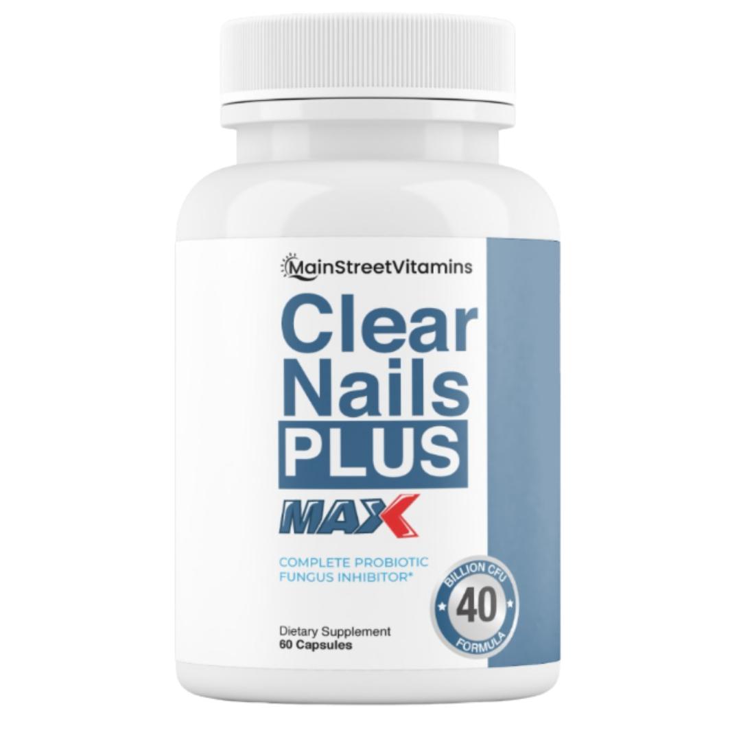 Clear Nails Plus Max 40 Billion CFU -  60 Capsules
