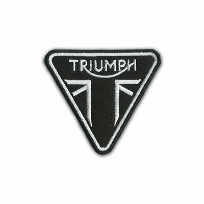 Triumph Motorcycles Racing Vintage 6.5 cm Iron-on or Sew-on Embroidered Patch