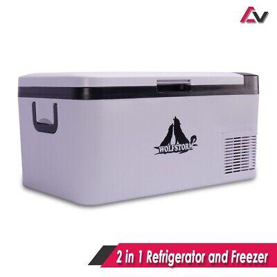 Freezer 25L Portable Refrigerator Cooler Car Travel Truck Fridge Camping 12V 24V