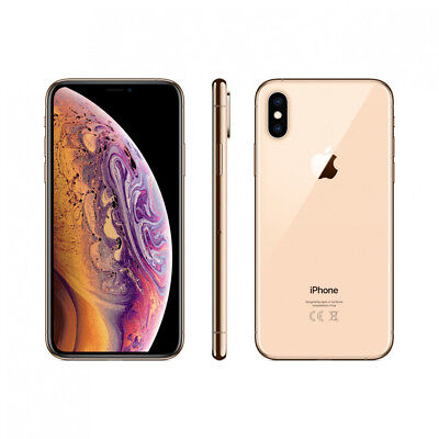 APPLE IPHONE XS 64GB GOLD ORO VIDEO 4K DISPLAY GARANZIA 24 MESI HD 5,8