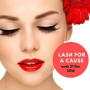 FREE EYELASH EXTENSION FOR A CAUSE Rivervale Belmont Area Preview