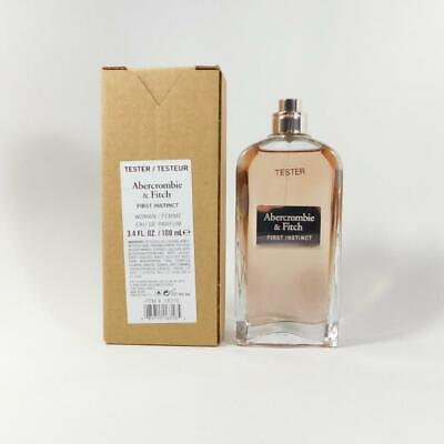 First Instinct By Abercrombie & Fitch EDP For Women 3.4oz / 100ml NEW IN TST BOX