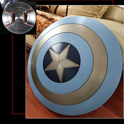 Avengers Captain America 58cm Blue Shield ABS Cosplay Halloween Weapon Prop Gift