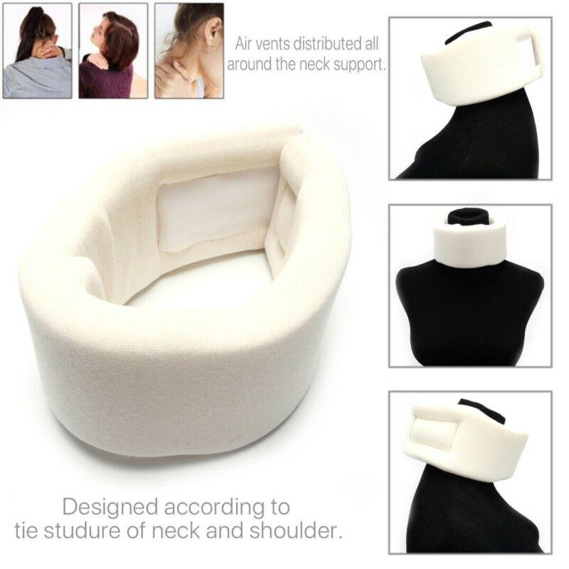 US Adjustable Soft Foam Neck Brace Support Collar Cervical T
