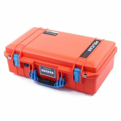Orange & Blue Pelican 1525 Air case  With Foam.