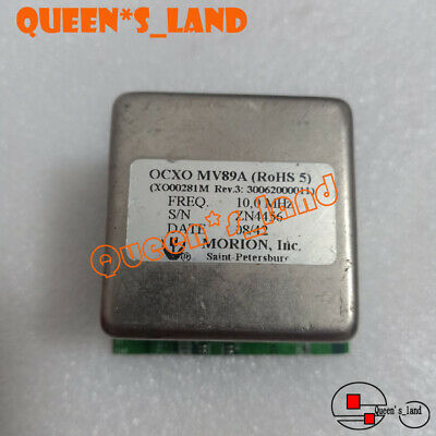 2008 Yearsmorion Double Oven Mv89a 10mhz 12v Sine Wave Ocxo Crystal Oscillator