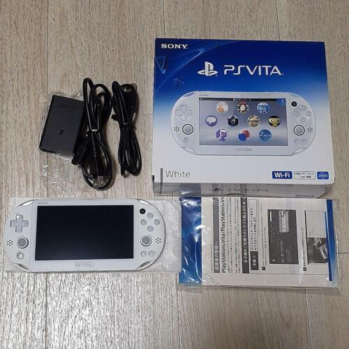 PlayStation+Portable+PS+Vita+PCH-2000+ZA12+White+Console+Wi-Fi+model+SONY