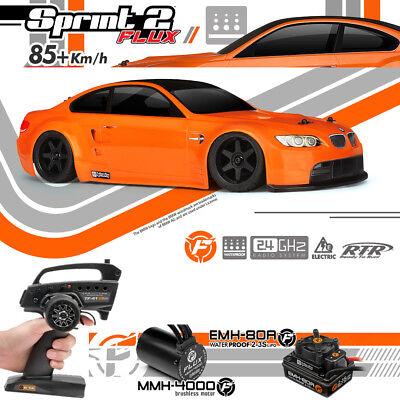 HPI Racing 112862 Sprint 2 Flux Brushless RTR w/BMW M3 GTS Body Car w/ Radio
