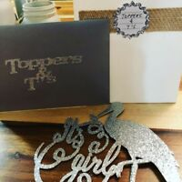 Cake toppers and custom t-shirts and more..Toppers & T's