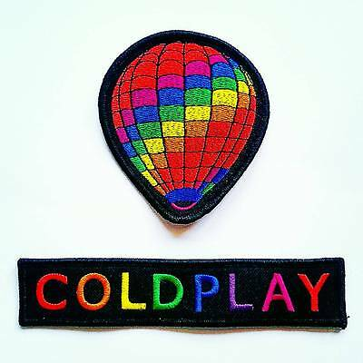 COLDPLAY ~ Hot Air Balloon Embroidered Patch / Badge ~ A Head Full of Dreams