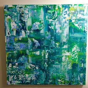 Original one of a kind abstract painting *price reduced*