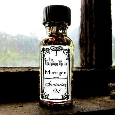 Morrigan Anointing Oil Goddess Witchcraft Supplies Wicca Witch Power Protection