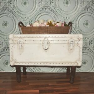 Antique trunk/coffee table