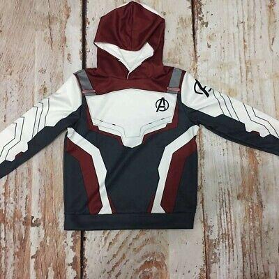 USA Kids Avengers Endgame Quantum Realm Hoodies Boy Sweatshirts Coat - Kids Avengers