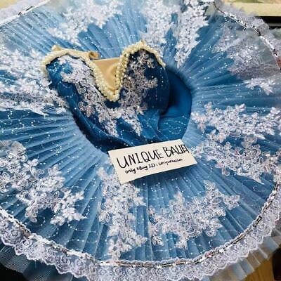 Ballerina Adult Costume (Adult Classic Ballet Tutu Costume Sky Blue Kids Ballerina Dance Platter)