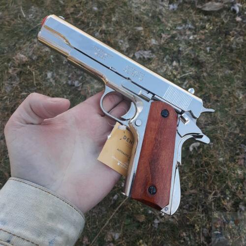 Denix M1911A1 Automatic 45 Pistol Replica Simulated Firing/Loading Metal/Wood