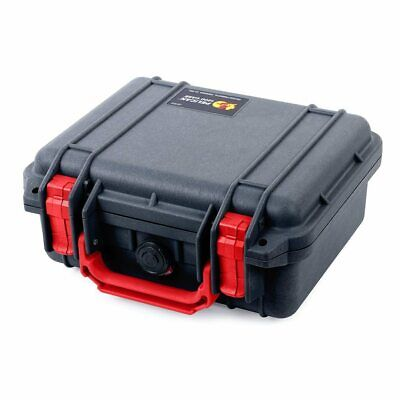 Black & Red Pelican 1200 Case with Foam.