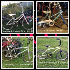 "20"" girls and boys bikes"