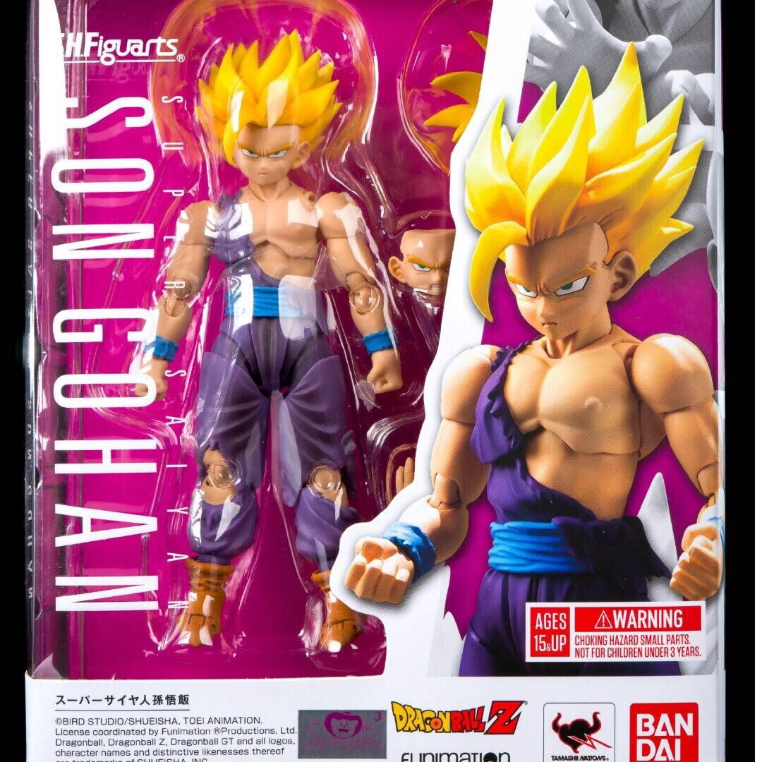 Bandai Tamashii SH Figuarts Dragon Ball Z Battle Damage Super Saiyan Son Gohan