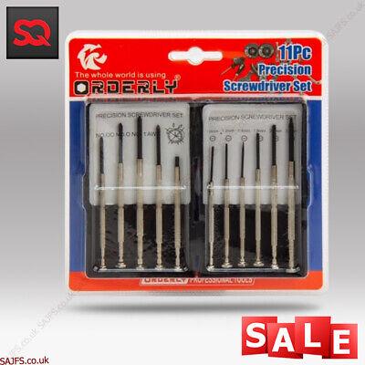 Mobile Phone Opening Tool Kit Screwdriver 11 in 1 set for Repair iPhone 7, 8, X