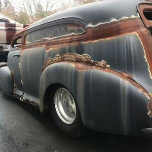 1948 chopped Chevy  panel cummins project