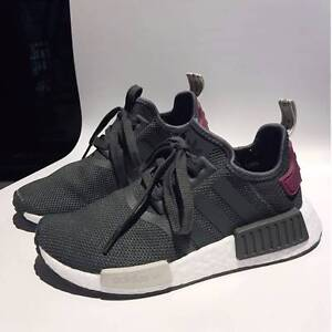 Adidas NMD R1 'Olive/Maroon' Melbourne CBD Melbourne City Preview