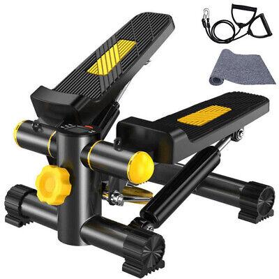 Fitness STEP UP CON bande resistenza Mini Stepper Verticale Pedane Antiscivolo