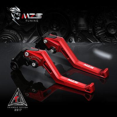 MZS Brake Clutch Levers For Kawasaki ZR750 ZEPHYR 1991-1993 Z750S 2006-2008 Red