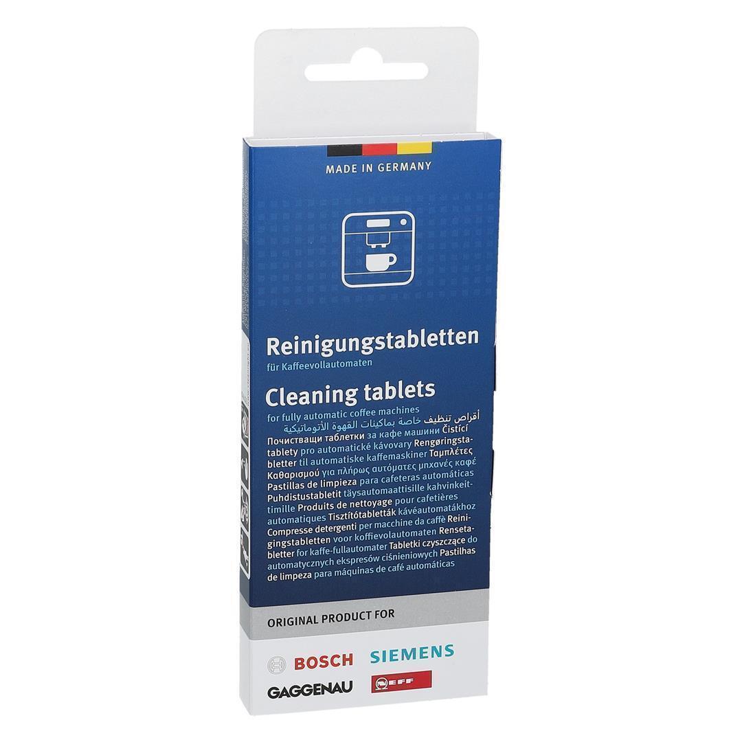 5,20 EUR//100 g 120x Reinigungstabletten für Bosch Vero Kaffeevollautomaten