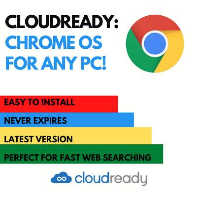 CloudReady Chrome OS Alternative on 16gb 3.0 USB