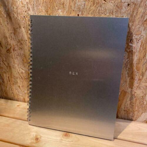 MADONNA SEX BOOK#0705807 METAL SPIRAL BOUND STEVEN MEISEL PHOTOGRAPHY+CD RARE