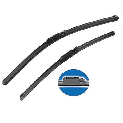 FOR Audi A6 Front Windshield Wiper Blades set of 2 factory style fit 2004-2011