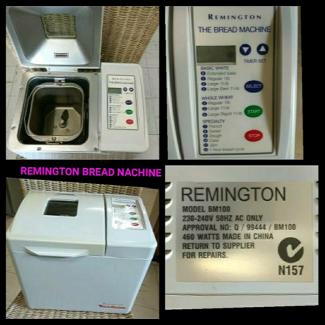 REMINGTON BREAD MACHINE