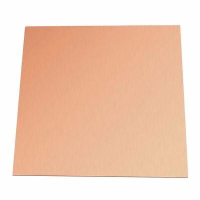 1pc 99.9 Pure Copper Cu Sheet Thin Metal Foil Sheet 100x100x0.5mm
