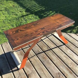 Handcrafted Art Bench