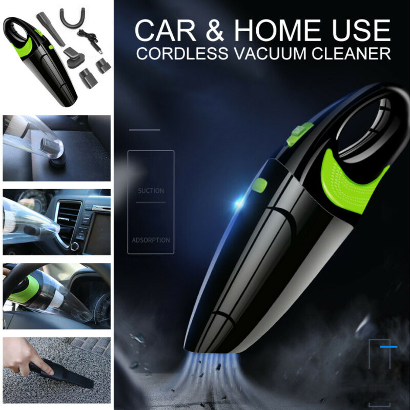 Portable Rechargeable Handheld Vacuum Cleaner Wet Dry Cordle
